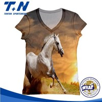 Cheap Polyester Custom Sublimation T shirt Wholesale