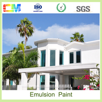 Best price customize color liquid acrylic building emulsion wall outdoor paint