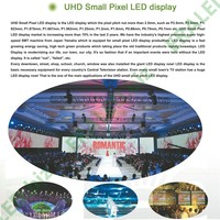 wall mounting commercial led advertisement player