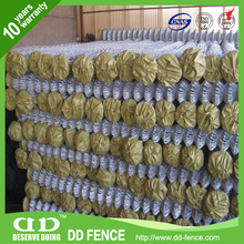 ISO 9001 chain link fence weave fabric