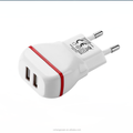 New research development fashion design portable usb travel charger
