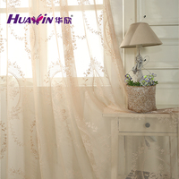 produce by karl mayer machine wholesale lace curtain fabric hot selling eyelet lace curtain