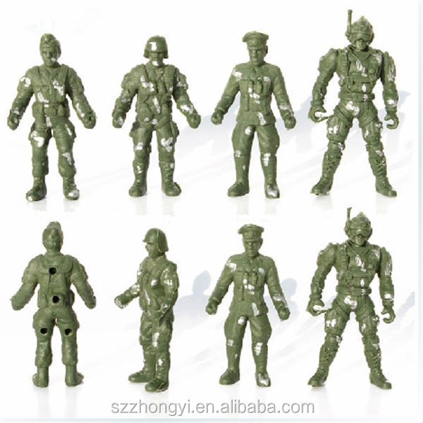Factory custom high quality innovation product plastic toy soldiers