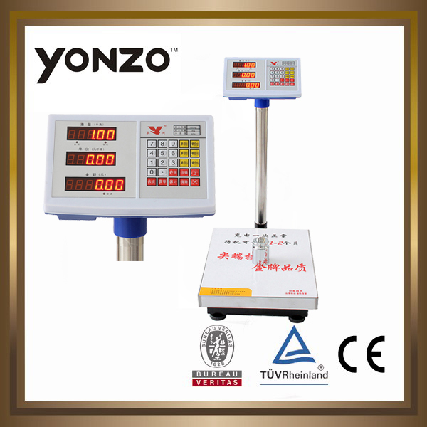 hot products 100kg 6v battery electronic platform scale weight machine online