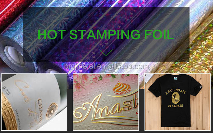 Rose Gold Hot Foil Stamping Paper