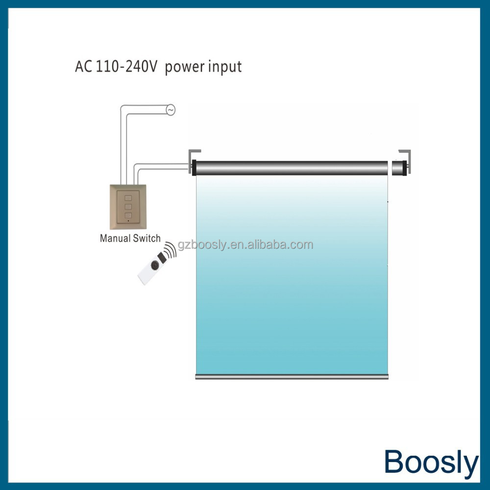 Boosly 35 tubular motor with high quality and reasonable price