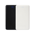 Mobile Phone Charger notebook power bank leather 8000 mah