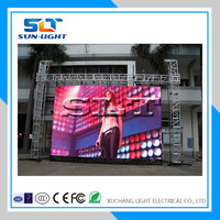 Alibaba express turkey high refresh waterproof outdoor full color led display advertising panel price p10