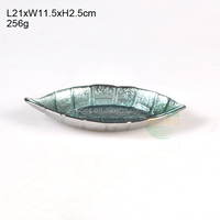 wholesale fish-shaped glass dinner plates