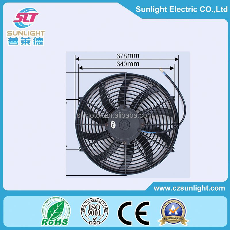 356mm industrial AC propeller wall mounted axial fan