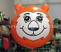 Outdoor inflatable tiger balloon, giant tiger helium balloon for promotion K7119