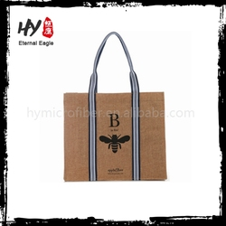 Professional cotton jute shopping bag made in China