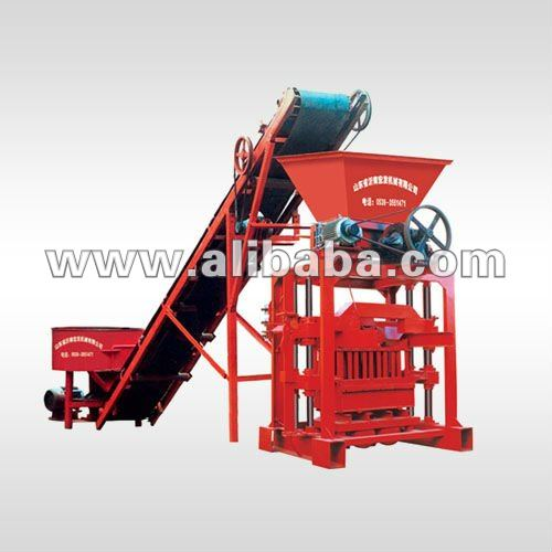 SEMI AUTOMATIC CONCRETE HOLLOW BLOCK BRICK MAKING MACHINE PRICE