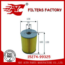 Engine spare parts oil filter OE 15274-99325