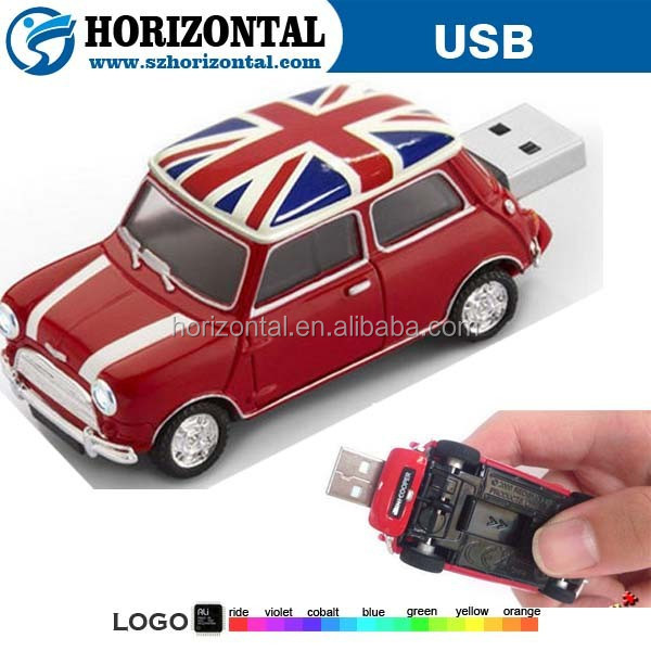 plastic car usb pen drive corporate gift car shaped pen drive oem car shaped pen drive