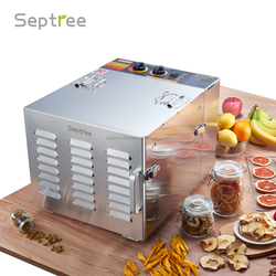 high quality electric food herb fruit dehydrator with adjustable thermostat