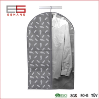 Wholesale Shopping bag Fabric Folding Garment Suit Dust Cover
