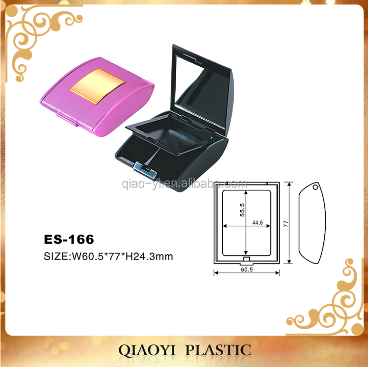 Personal care Packaging Boxes ABS plastic eyeshadow makeup palette