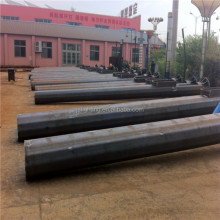 25m Galvanized electric power transmission steel pole/Steel Tubular Pole/steel tower