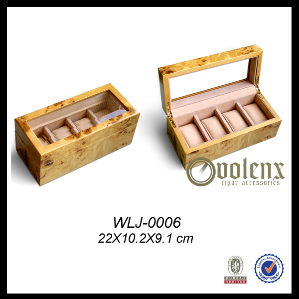 Promotional Great Quality Wooden Watch Case