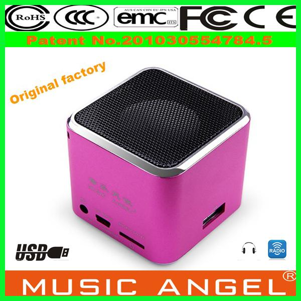 new gadgets 2014 Original Music Angel JH-MD07U download free music for mp3 player micro widely used td-v26 speaker