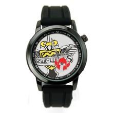 Supply silicon strap alloy case custom wrist watch with your own pictures on watch dial