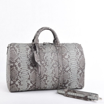 Travel duffel bag worldtraveler python luagge case exotic bag luxurylife#travel case