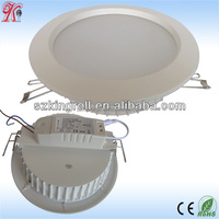 Aluminum housing 2014 New Designed 12W LED Downlight white Ceiling Light