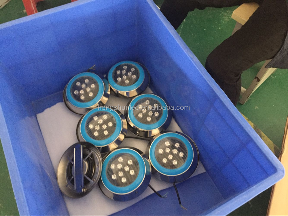 9w 12w led swimming pool lights RGB IP68 LED remote control underwater Lamp