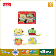 Best selling baby educational fruit shape cloth books toy baby shape figuring books toy fabric cloth book toy for kids