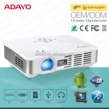 Android 3D projector with 3d dlp link active glasses