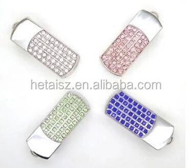 Beautiful Necklace luxury usb pen drive, jewlry diamond usb flash drive memory stick with chain