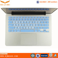 Excellent quality custom silicone laser keyboard with different color