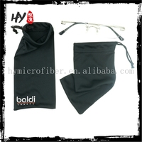 Professional microfiber drawstring pouch,microfiber bag for glasses,eco product packaging