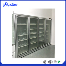 Lintee Upright Drink Beverage and Milk Cooler Display Fridge