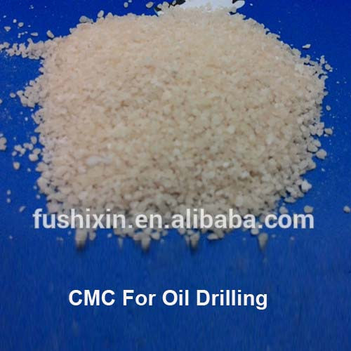 CMC Factory Powder / Granulal HV-CMC used as viscosifier and filtration reducer for Oil Drilling