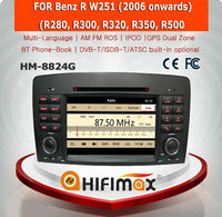 HIFIMAX WIN CE 6.0 Car DVD Player For Mercedes Benz R W251 2006 onward Car dvd GPS Navigation Systemedes