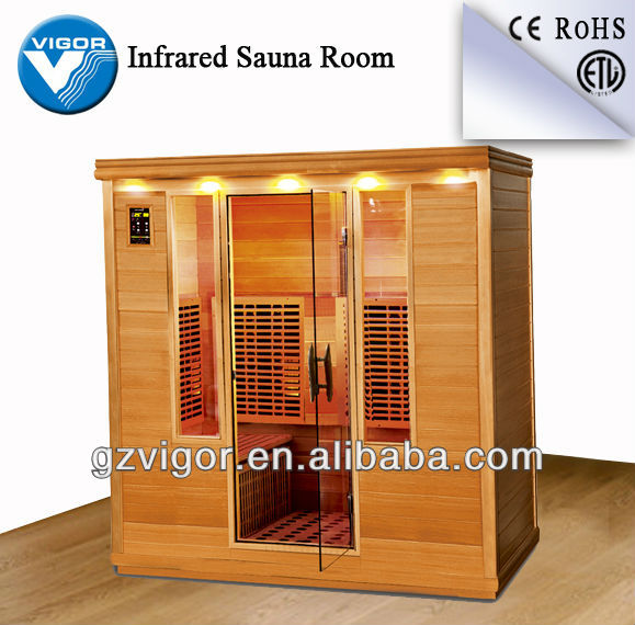 Newest dry sauna with canadian hemlock wood