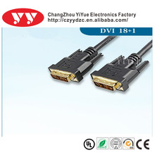 Gold plated male to male DVI cable manufacturer & supplier & exporter