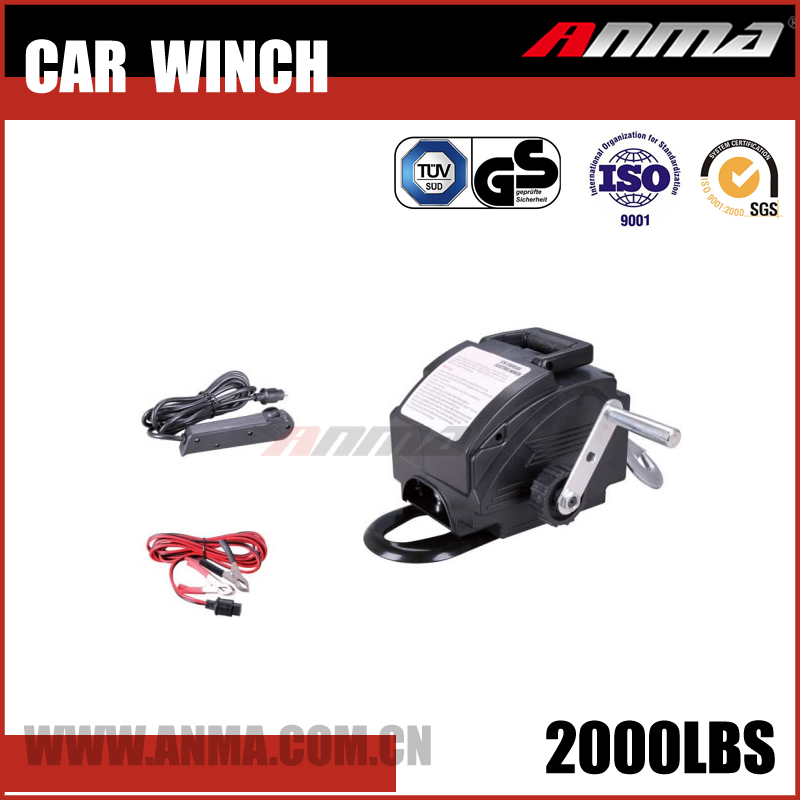 fast line speed 4x4 Manual DMX mini 12V Car electric Winch AM7022000