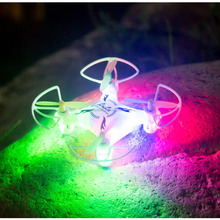 2015 best Christmas gift 8803 Factory outlet mini RC Quadcopter, Drone Helicopter 360 Degree flipping with 10 pcs LED light