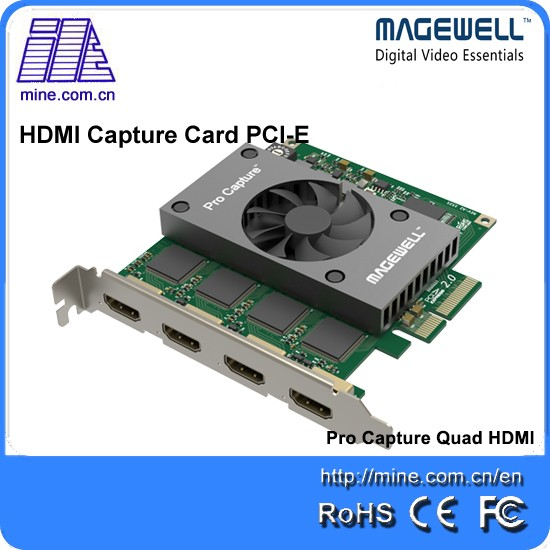 Full HD video quality 4CH video capture card linux hdmi capture card laptop video capture card