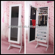 Fashional dressing mirror with jewelry cabinet