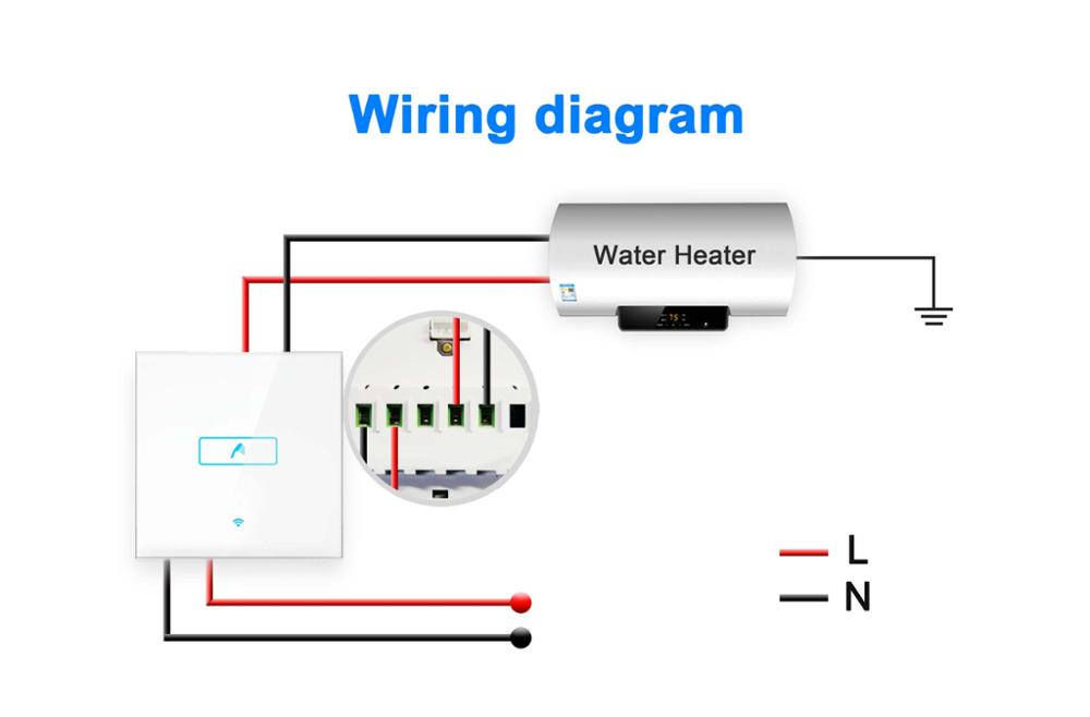 water heater switch wiring diagram water heater switch wiring rh parsplus co suburban water heater switch wiring wiring water heater switch