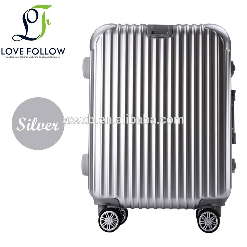 Best price reliable quality unique carry-on luggage abs+pc trolley case