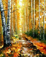 2015 Oil Painting Autumn Landscape,Oil Painting of Autumn Trees,Paintings Autumn Trees