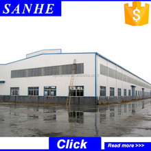 High quality prefabricated stand structure steel buildings