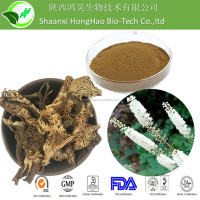 100% Natural Pure Black Cohosh Root Extract/Triterpenoid Saponins 2.5%HPLC