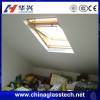 CE certificate aluminium frame laminated glass skyview roof window