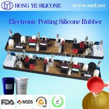 RTV liquid silicone rubber potting compound for electronics